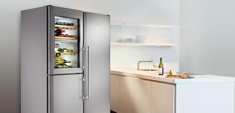 Šaldytuvų šaldytuvo išdėstymo būdai