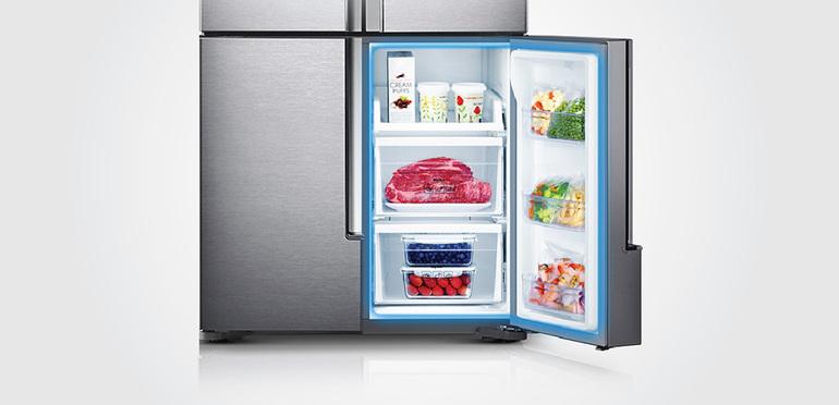 Šaldytuvo įrengimo pranašumai