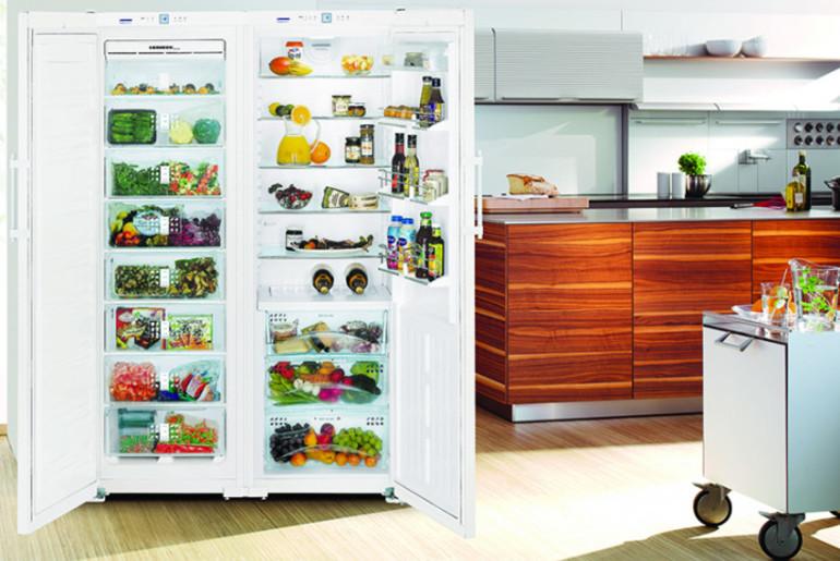 Viršutiniai šaldytuvai
