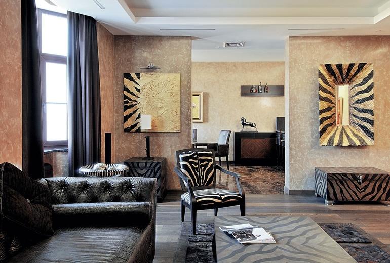 Art Deco stiliaus buto interjeras