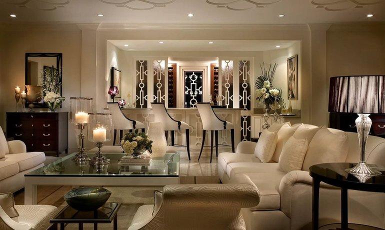 Art deco stiliaus namų interjeras