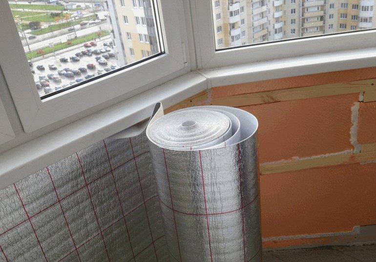 Balkono sienų šiluminė izoliacija