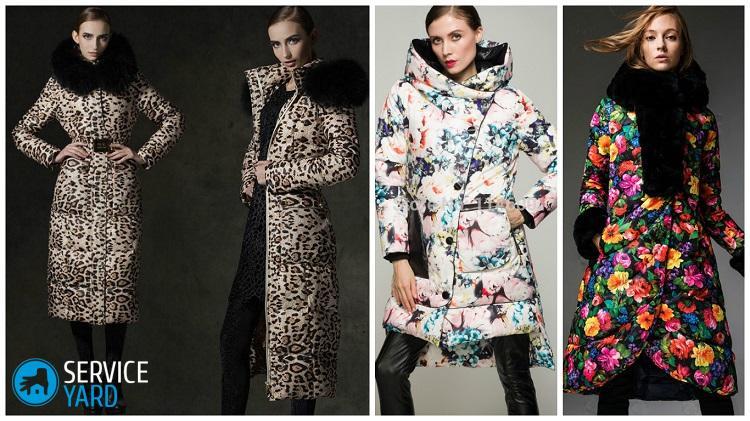 vestes à la mode imprimées